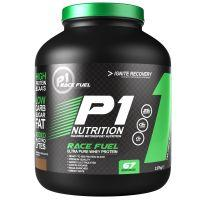 P1Nutrition Race Fuel Strawberry Milkshake