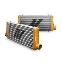 Universal Intercooler M-Line Eat Sleep Race Edition, Gold End Tanks